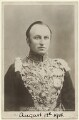 George Nathaniel Curzon, Marquess Curzon of Kedleston, published by Rotary Photographic Co Ltd - NPG x7088