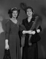 Fiona (née Campbell-Walter), Baroness Thyssen; Frances Henriette Campbell-Walter (née Campbell), by Bassano Ltd - NPG x71170