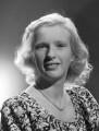 Maureen Tinner (née Critchley-Waring), by Bassano Ltd - NPG x71839