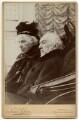 Catherine Gladstone (née Glynne); William Ewart Gladstone, by Numa Blanc - NPG x7262