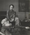 Walter Richard Sickert; Thérèse Lessore, by Cecil Beaton - NPG P869(21)