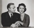 Yehudi Menuhin; Diana Menuhin (née Gould), by Dorothy Wilding - NPG x21329