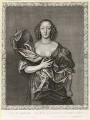 Elizabeth (née Brydges), Countess Castlehaven, by Pierre Lombart, after  Sir Anthony van Dyck - NPG D10889