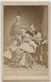 Frederick VIII, King of Denmark with his family, after Elfelt - NPG x74399