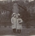Elsie Queen Nicholson (née Myers); Eveleen ('Eve') Clarke (née Myers), by Unknown photographer - NPG x74694