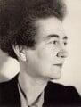 Margaret Goldsmith (Margaret Leland), by Lucia Moholy - NPG x76388