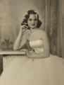 Henrietta Joan (née Tiarks), Duchess of Bedford, by Dorothy Wilding - NPG x34866