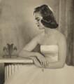 Henrietta Joan (née Tiarks), Duchess of Bedford, by Dorothy Wilding - NPG x34867