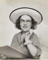 Dorothy Wilding, by Dorothy Wilding - NPG x27405