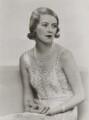 Sylvia (née Hawkes), Lady Ashley, by Dorothy Wilding - NPG x4359
