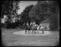 Candida Lycett Green; Penelope (née Chetwode), Lady Betjeman; Paul Betjeman, by Bassano Ltd - NPG x78430