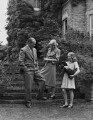 Miriam Edna (née Ludford), Lady Stapleton; Miles Talbot, 9th Baron Stapledon; Susan Penelope Fulford-Dobson (née Stapleton), by Bassano Ltd - NPG x78443