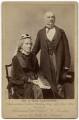 Catherine Gladstone (née Glynne); William Ewart Gladstone, by Herbert Rose Barraud - NPG x7933