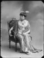 Princess Anne of Löwenstein-Wertheim-Freudenberg (née Lady Anne Savile), by Bassano Ltd - NPG x80284