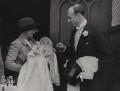 Sir John Lindsay Dashwood; Maud Helen Sarah Bruce (née Dashwood), Lady Aberdare, by Graphic Photo Union - NPG x8039