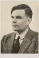 Alan Turing, by Elliott & Fry - NPG x27079
