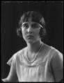 Elizabeth, Countess Toerring-Jettenbach, by Bassano Ltd - NPG x81391