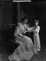 Hon. George Edward Dudley Carr Glyn; Edith Amelia (née Ward), Lady Wolverton, by Henry Walter ('H. Walter') Barnett - NPG x81430