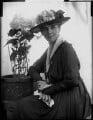 Adelaide Mabel Allenby (née Chapman), Viscountess Allenby of Megiddo, by Henry Walter ('H. Walter') Barnett - NPG x81629