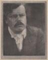 G.K. Chesterton, by Alvin Langdon Coburn - NPG x87253