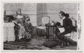 Ellis Jeffreys as Lady Sneerwell; James Hearn as Snake in 'The School for Scandal', by Daily Mirror, published by  J. Beagles & Co - NPG x8739