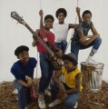 Musical Youth (Freddie ('Junior') Waite; Patrick Waite; Kelvin Grant; Michael Grant; Dennis Seaton), by Eric Watson - NPG x87633