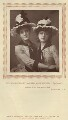 Maude Millett (Mrs Tennant) as Ida; Annie Hughes as Lotty in 'Two Roses', by W. & D. Downey, published by  Strand Publishing Company - NPG x9318