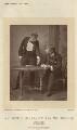 Herbert Waring as Sir Brice Skene; Sir George Alexander as David Remon in 'The Masqueraders', by Alfred Ellis - NPG x9385