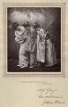 Sibyl (Sybil) Grey, Leonora Braham and Jessie Bond as the Three Little Maids in 'The Mikado', by Herbert Rose Barraud, published by  Carson & Comerford - NPG x9389