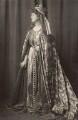 Priscilla Cecilia (née Moore), Countess Annesley as Queen Eleanor of Castile, by Henry Walter ('H. Walter') Barnett - NPG x45398