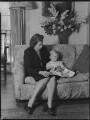 Lady Moyra Blanche Madeleine Browne (née Ponsonby); Desmond John Michael Browne, by Navana Vandyk - NPG x97186