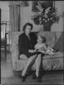 Lady Moyra Blanche Madeleine Browne (née Ponsonby); Desmond John Michael Browne, by Navana Vandyk - NPG x97188