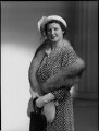 Hon. Mabel Nancy Mercer Ainscow (née Siddlely), by Navana Vandyk - NPG x97269
