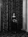 Ann Lindsay (née Aymer), Lady Aberconway, by Navana Vandyk - NPG x97340