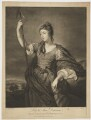 Lady Anne Dawson (née Fermor), by James Macardell, after  Sir Joshua Reynolds - NPG D34833