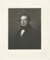 Granville George Leveson-Gower, 2nd Earl Granville, by William Walker, after  (Wilhelm Augustus) Rudolf Lehmann - NPG D34793