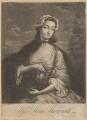 Flora Macdonald with miniature of Prince Charles Edward Stuart, after I. Markluin - NPG D34734
