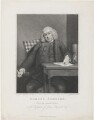 Samuel Johnson, by James Heath, published by  Charles Dilly, after  Sir Joshua Reynolds - NPG D34873