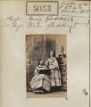 Mary Drew (née Gladstone); Helen Gladstone, by Camille Silvy - NPG Ax55058