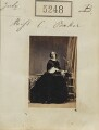 Elizabeth Wellesley (née Hay), Duchess of Wellington, by Camille Silvy - NPG Ax55251
