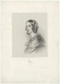 Lady Elizabeth Dorothy Anne Georgiana Grey (née Howard), by Richard James Lane, printed by  M & N Hanhart, after  George Dodgson Tomlinson - NPG D34959