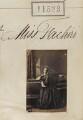 Marietta Fachiri, by Camille Silvy - NPG Ax61209