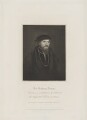 Sir Anthony Denny, by Charles Picart, published by  Lackington, Hughes, Harding, Mavor & Jones, and published by  Longman, Hurst, Rees, Orme & Brown, after  Harold Crease, possibly after  Hans Holbein the Younger - NPG D35025