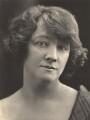 Gwladys Ethel Gwendolen Eugénie (née Sutherst), Marchioness Townshend (later le Stange), by Henry Walter ('H. Walter') Barnett - NPG x45452