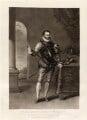 William I, Prince of Orange, by Charles Turner, published by  Samuel Woodburn, after  Johan Wierix - NPG D34887
