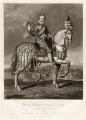 Henri IV, King of France, by Charles Turner, published by  Samuel Woodburn, after  Renold or Reginold Elstrack (Elstracke) - NPG D34888