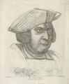 Sir Henry Guildford ('Harry Guldeford Knight'), by Richard Dalton, published by  William Richardson, after  Hans Holbein the Younger - NPG D35062