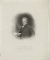 Sir John Gurney, by William Holl Sr, printed by  McQueen & Co, published by  Robert Cribb & Son, after  George Henry Harlow - NPG D35072