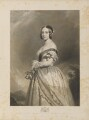Queen Victoria, by François Forster, published by  Sir Francis Graham Moon, 1st Bt, after  Franz Xaver Winterhalter - NPG D35047