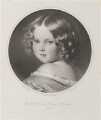 Princess Helena Augusta Victoria of Schleswig-Holstein, by Thomas Fairland, printed by  M & N Hanhart, after  Franz Xaver Winterhalter - NPG D35057